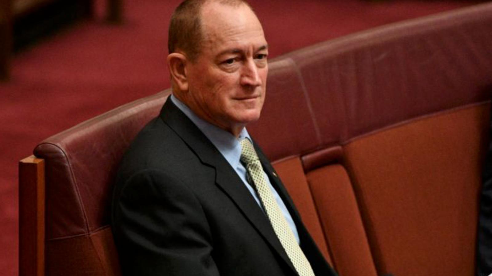 Fraser Anning Photo: Australian Senator Fraser Anning Blames Muslim Immigration