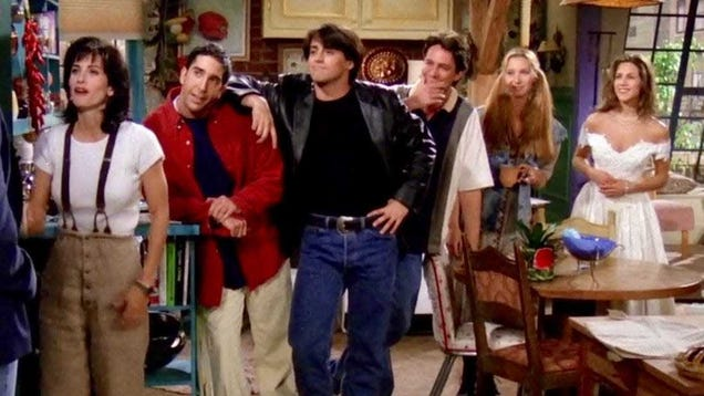 Earn $1,000 to Watch the First Five Seasons of  Friends