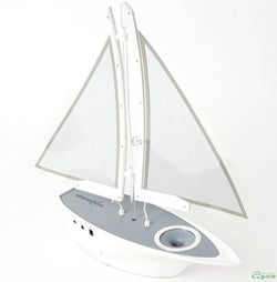 Illustration for article titled Nexspeaker Sailboat Speaker System