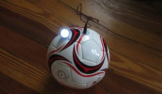 Illustration for article titled A Soccer Ball To Light Up Developing Nations