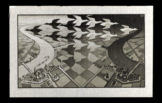 Boston Public Library Put Its M.C. Escher Collection Online, So It\'s ...