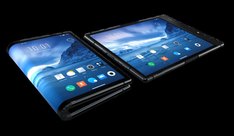 Illustration for article titled El primer móvil plegable del mundo no es de Samsung, y al parecer funciona