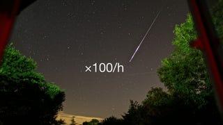 Illustration for article titled Hullócsillagok százai érkeznek ma éjszaka
