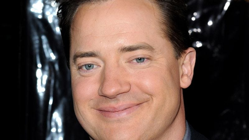 Illustration for article titled Brendan Fraser To Star In New Pre-Movie Trivia Question