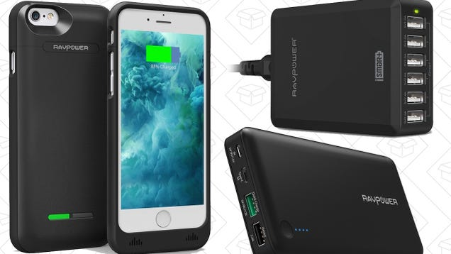 A Whole Mess of RAVPower Charging Gear Is On Sale In Amazon's Gold Box