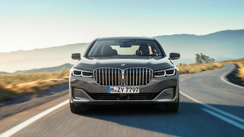Yes The 2020 Bmw 7 Series Grille Is A Whole 40 Percent Larger