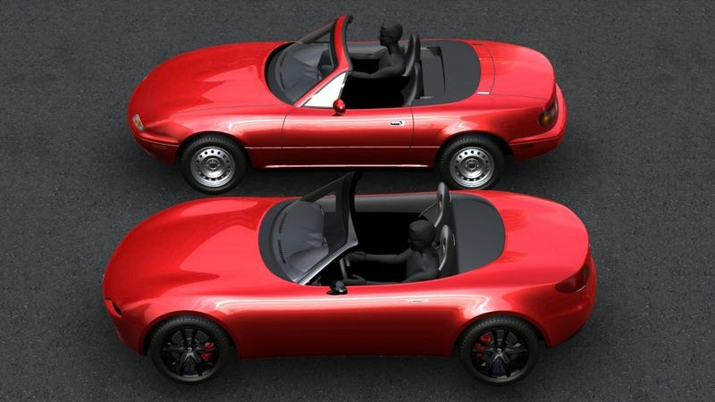 Here's How Mazda Designed The New Miata To Be Like The Original