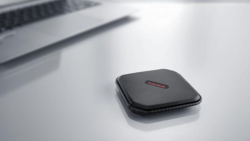 SanDisk 500GB Portable SSD | $89 | AmazonSanDisk 250GB Portable SSD | $50 | Amazon