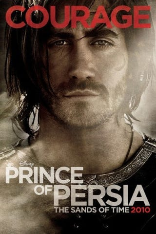 Illustration for article titled New Prince Of Persia Poster Is So Meh
