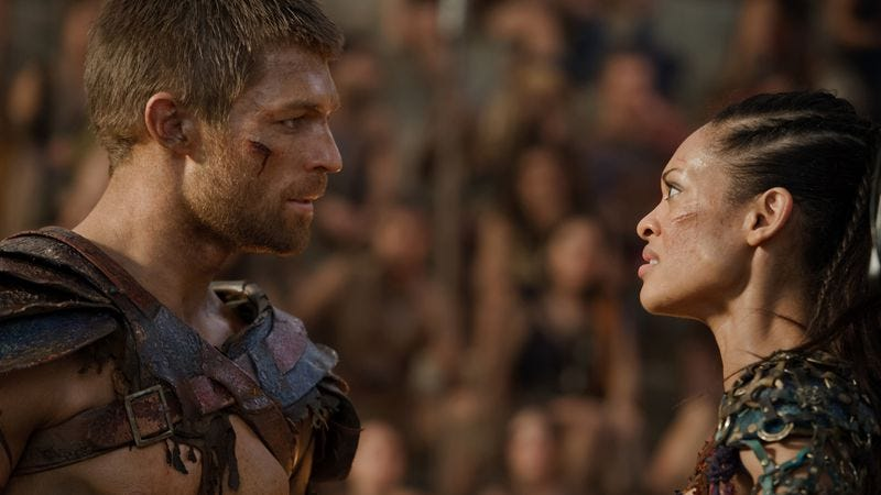"""Illustration for article titled Spartacus: """"The Dead And The Dying"""""""