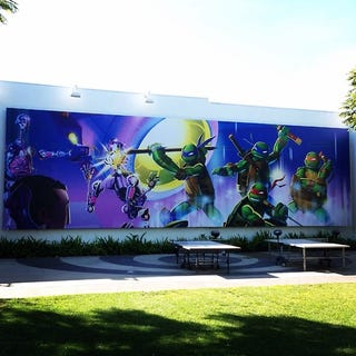 Illustration for article titled Nick animation studios places a new TMNT Billboard