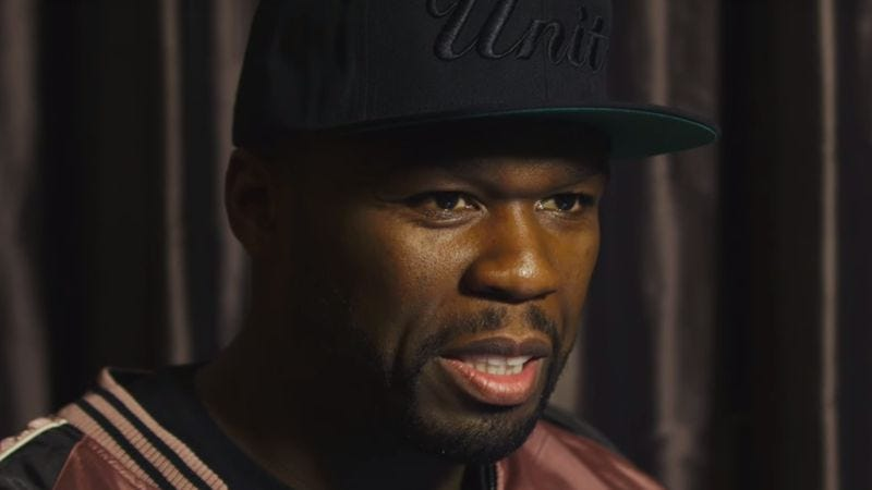 Illustration for article titled 50 Cent experiences the horror of YouTube comment sections