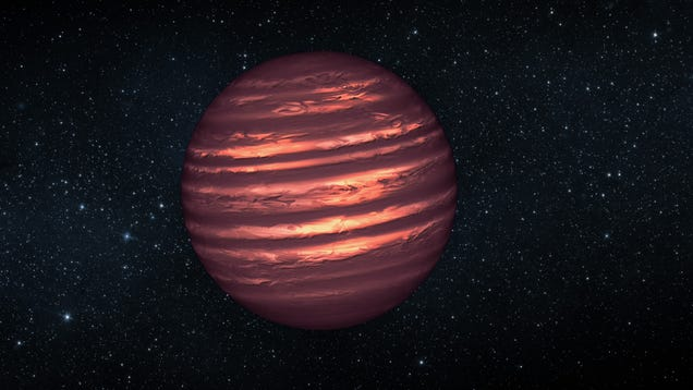 Two Failed Stars in Our Cosmic Neighborhood Seem to Have... Stripes?