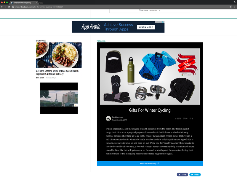 Illustration for article titled Promoted Featured Posts In Inf Scroll Slot