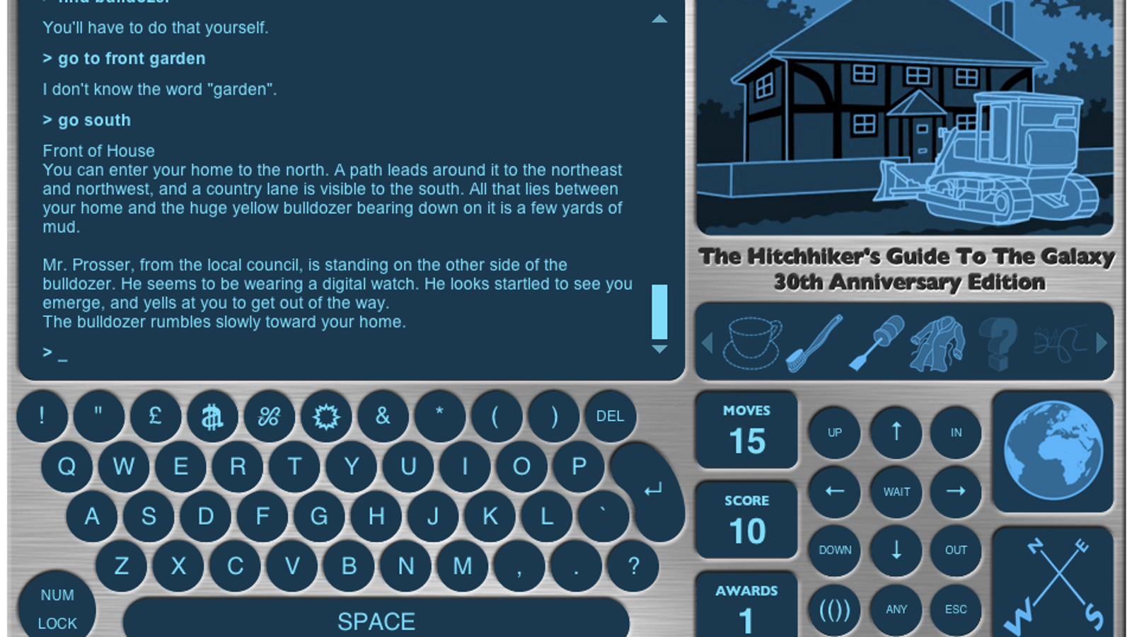 Play 1984S Hitchhikers Guide To The Galaxy Text Game For -4495