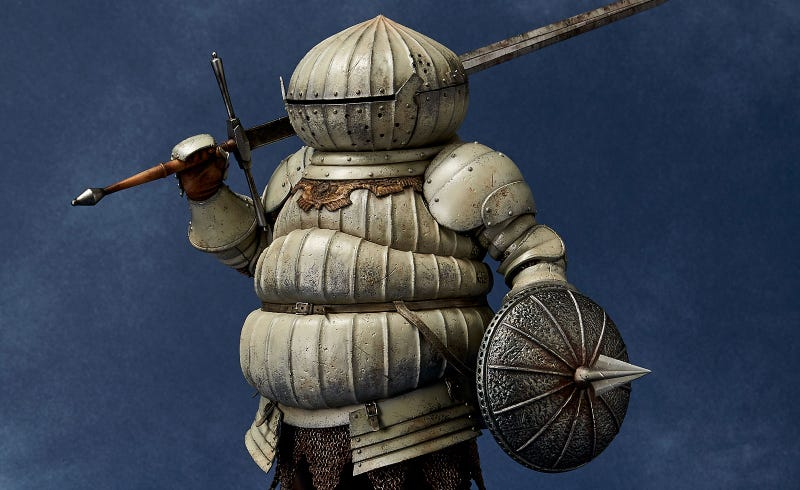 Illustration for article titled A $300 Siegmeyer From Dark Souls Statue