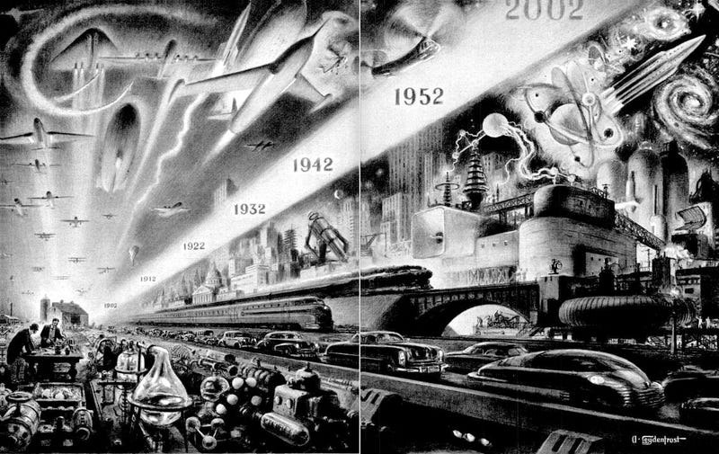 Illustration for article titled Science on the March (1952)