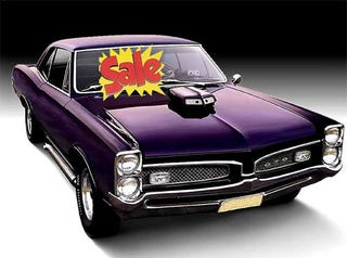 Illustration for article titled Classic Muscle Car Values Next Thing To Tank?