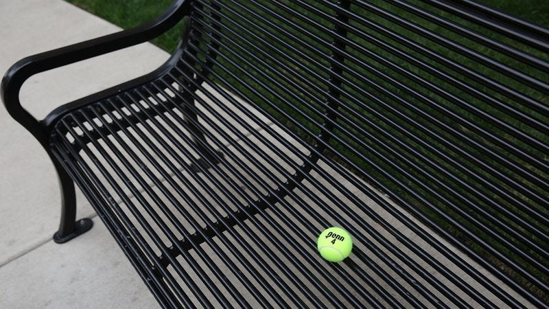 Illustration for article titled 14 Tennis Balls And You'll Never Guess Which One Is Mine