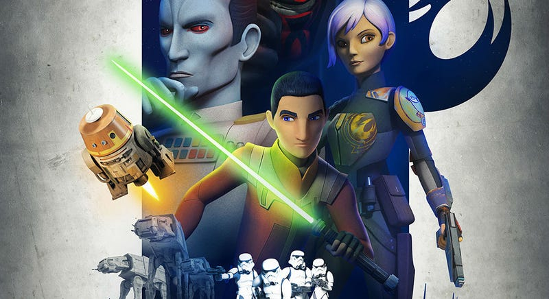 Illustration for article titled Ezra Shows Off His Dark Side in an Intense NewStar Wars Rebels Clip