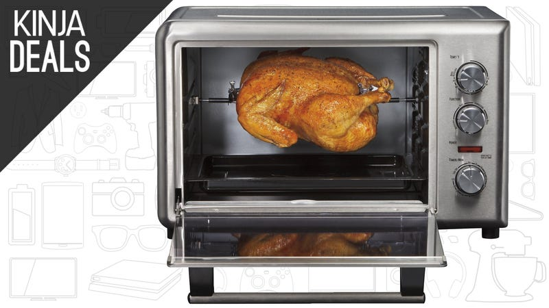 Illustration for article titled Spit Roast Your Thanksgiving Turkey With This $75 Countertop Oven