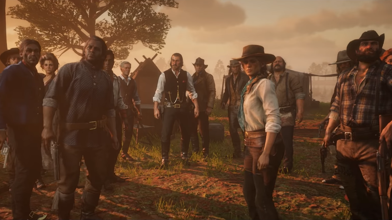 Illustration for article titled Players Debate Whether Red Dead Redemption 2's New Patches Downgraded The Game's Graphics