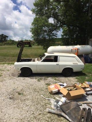 1972 Vega Panel Wagon