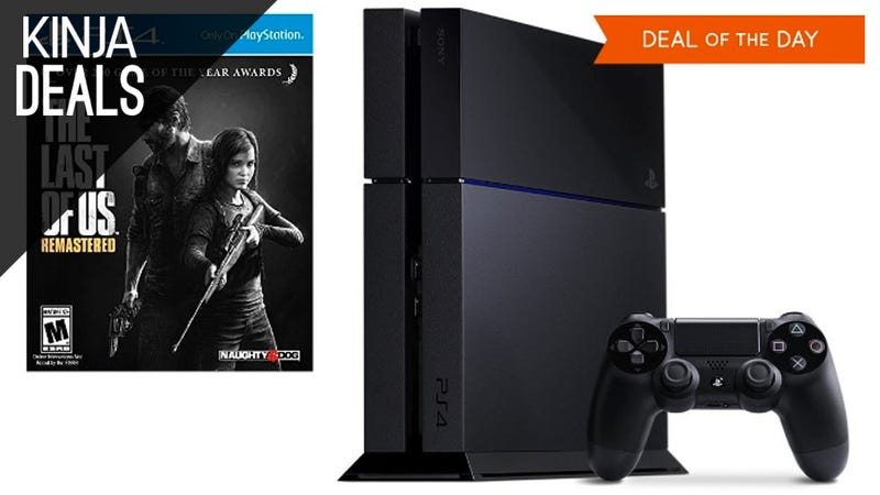 Illustration for article titled The PS4 Last Of Us Bundle is Down to $342 Today