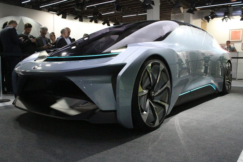 There's A New Chinese Electric Autonomous Concept Car And ...