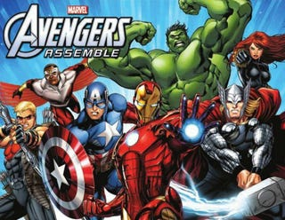 Illustration for article titled A Glipse at the Avengers Assemble Roster