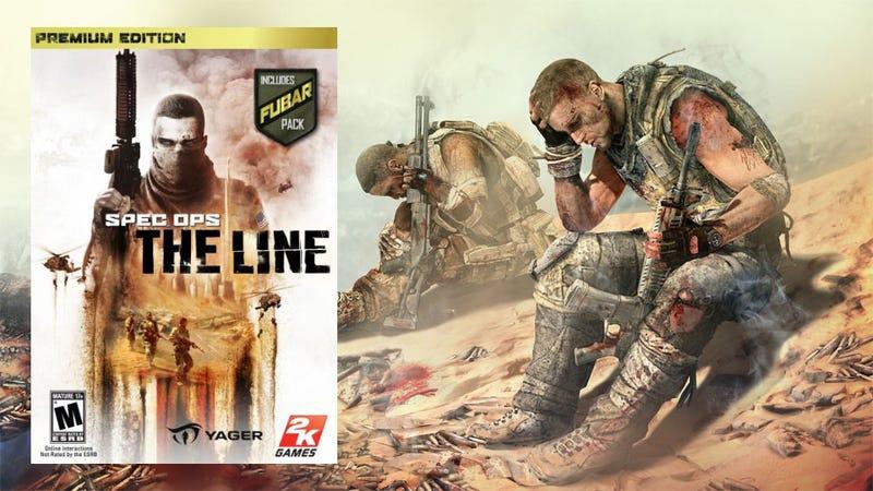 Illustration for article titled Spec Ops: The Line Deploys June 26, Preorders Get FUBAR'ed