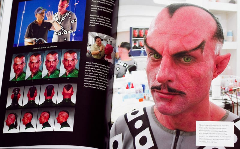 Illustration for article titled Mark Strong wore full Sinestro makeup and prosthetics on the Green Lantern set