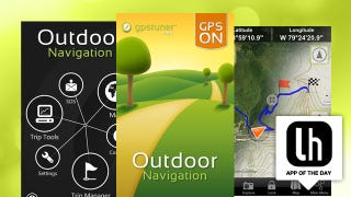 Illustration for article titled Outdoor Navigation Gets You There on Foot, Bike, or by Car, is the Perfect Outdoors Summer Companion App