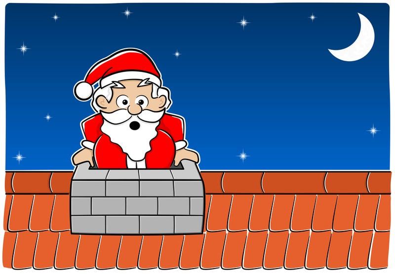 Illustration for article titled A Brief List of People Who Are Not Santa But Got Stuck in Chimneys