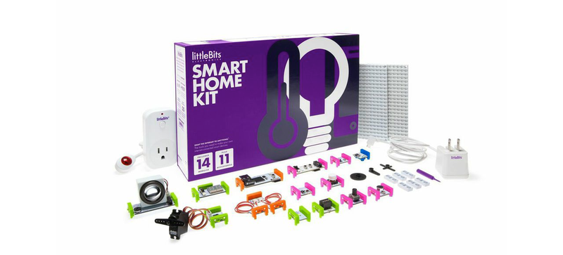 Illustration for article titled The New littleBits Smart Home Kit Makes It Easy to Hack Your House