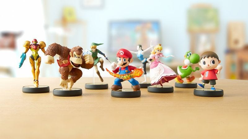 Illustration for article titled It's surprisingly easy to forge a bond with Nintendo's Amiibo figures