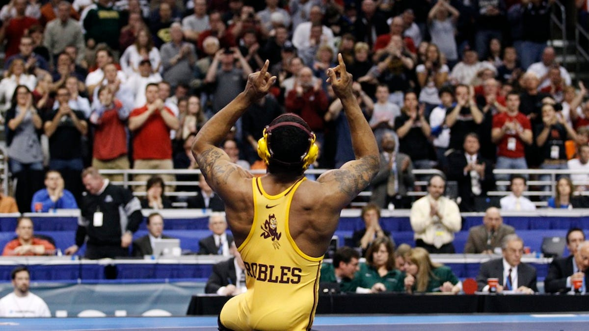 The One-Legged Wrestler Who Conquered His Sport, Then Left