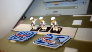 Illustration for article titled There Are Now Lego Astronauts Aboard The ISS