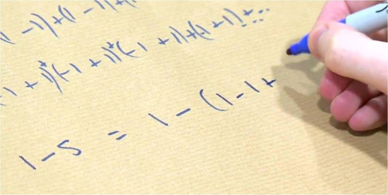 Illustration for article titled El truco matemático que te tendrá horas pensando