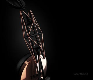 Illustration for article titled 20/20 Headphones Use Tensegrity to Adapt to Any Head Automagically