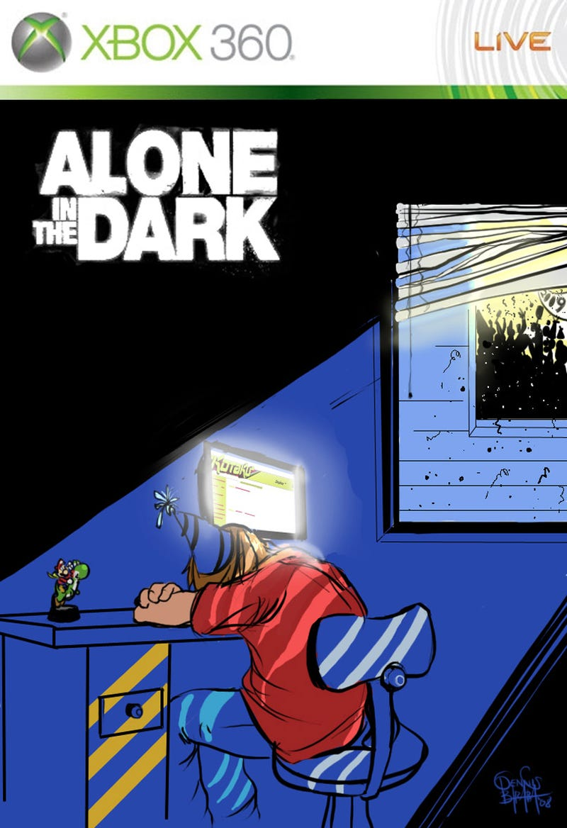 Illustration for article titled All Alone In The Dark, So Lonely, So Sad