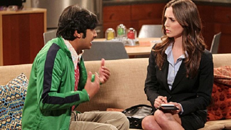 """Illustration for article titled The Big Bang Theory: """"The Apology Insufficiency"""""""