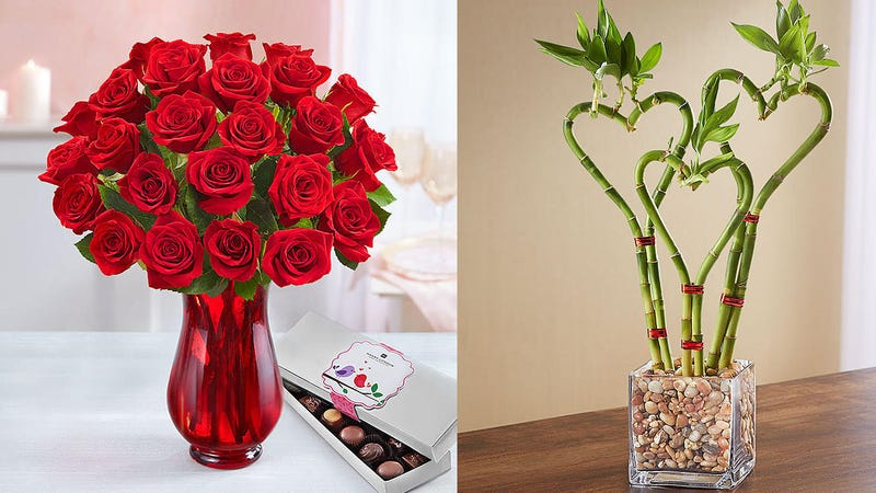 25% Off Early Delivery for Valentine's Day Flowers | 1800Flowers | Promo code DLVRCUPID
