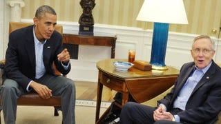 President Barack Obama and Senate Majority Leader Harry ReidMANDEL NGAN/AFP/Getty Images