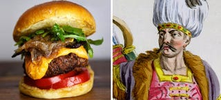Illustration for article titled The origin of the hamburger goes back to the time of Genghis Kahn