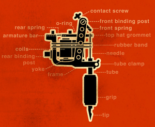 Illustration for article titled So This Is What A Tattoo Machine Is Made Of