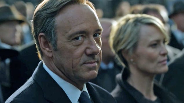 Netflix Announces End of House of Cards Following Allegations Against Kevin Spacey
