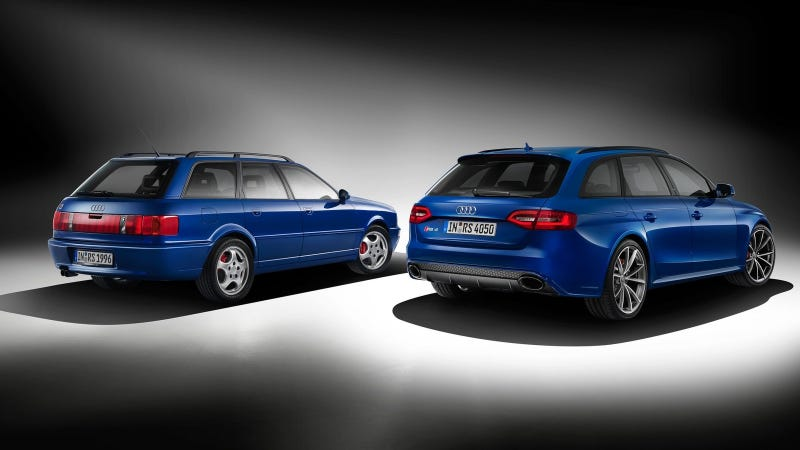 Illustration for article titled The Audi RS4 Avant Nogaro Is A Very Blue Tribute To The RS2