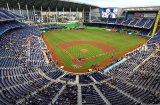 Illustration for article titled The Marlins Are Responsible For 40 Percent Of MLB's Attendance Drop