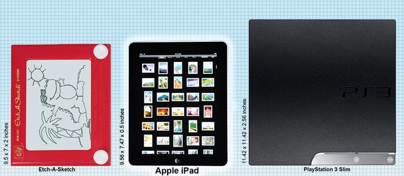 Illustration for article titled Sizing Up The Apple iPad